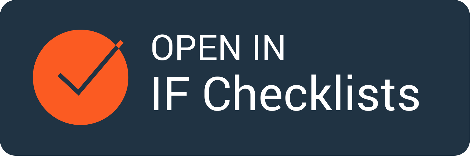 Open in IF Checklists